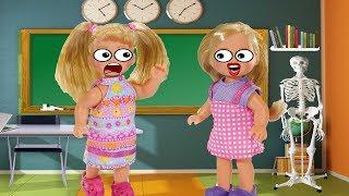Двойник на уроке! Кукольные истории! Однажды в школе!