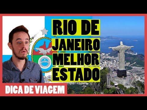 Por Que O RIO DE JANEIRO é O MELHOR ESTADO Do Brasil?