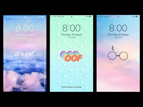 How To Make Aesthetic Lockscreen - Step By Step