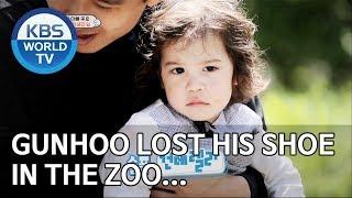 Gunhoo lost his shoe in the zoo… [The Return of Superman/2019.07.14]