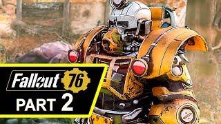 FALLOUT 76 Gameplay Walkthrough Part 2 (4K HD)
