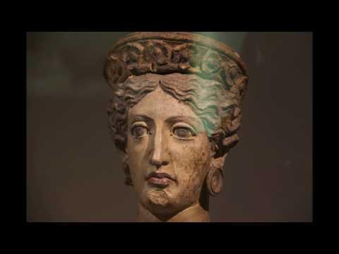 MUSEO ETRUSCO VILLA GIULIA ROMA NECROPOLI DI TARQUINIA  2017