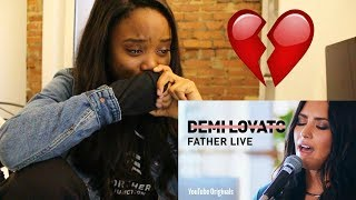 Demi Lovato - Father Live - REACTION - ibukola