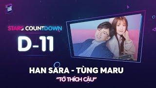 [D-11 ZMA 2017]   Tùng Maru make up cho Han Sara siêu đáng yêu