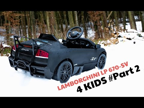 Lamborghini Murcielago Lp 670 Sv 12v Electric Car For K