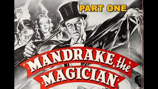 Mandrake the Magician (1939) part 1