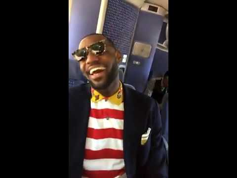 Richard Jefferson CLOWNS Lebron/Love on Snapchat (Full video, HILARIOUS)