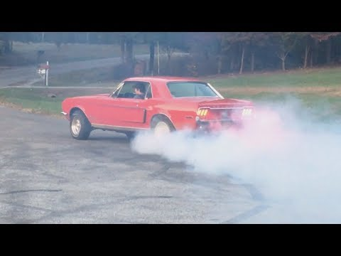 1968 Mustang Adventures [Burnouts, Cops, Car Wrecks and Car Washes]