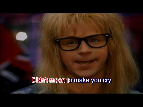 Karaoke with Lyrics - Queen - Bohemian Rhapsody (Wayne's World compilation)