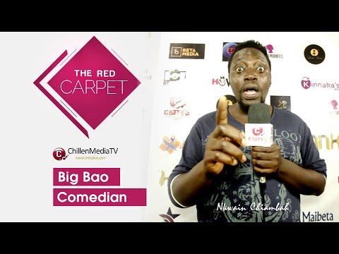 Big Bao on The Red Carpet CMTV | Kamer Link Magazine Launching Buea