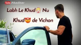 Zindagi na milegi dobara by babbu maan | Latest punjabi song 2017 - 18 | Whatsapp status video