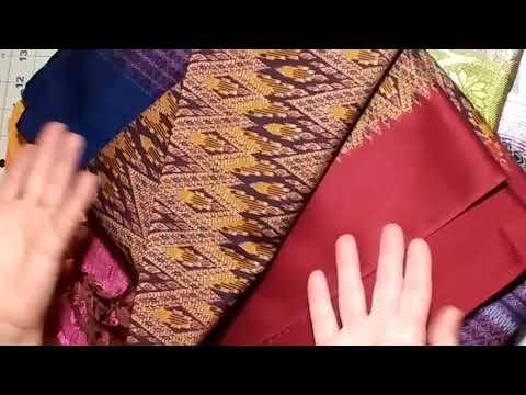 Elephants. Fabrics. and Textiles. Oh My!