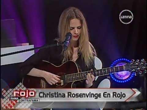 Christina Rosenvinge En Perú 2013