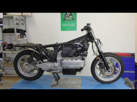 BMW K100 Cafe Racer by HORNIG fast motion