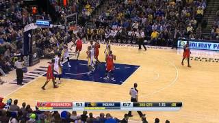 Marcin Gortat vs Indiana Pacers | 17 points, 10 rebounds | 29.11.2013