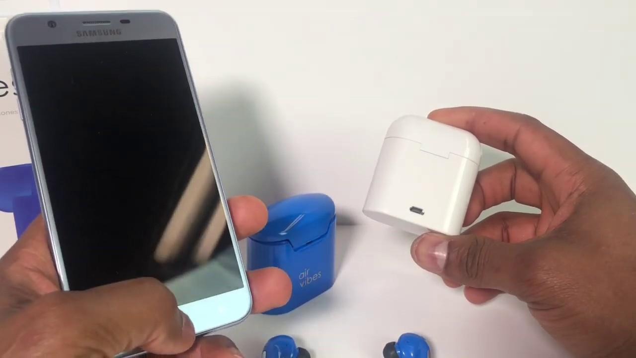 64c936f993d Cómo emparejar los auriculares i7s TWS /Air Vibes con un celular ...