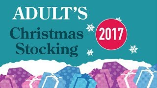 2017 Adult Christmas Stocking For Him from Hawkin's Bazaar