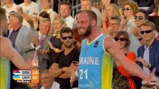 Переможний кидок. Україна - Сербія. Чемпіонат Європи з баскетболу 3х3 (9.07.2017)