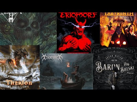 New Metal Releases Jan 22 2021 - Asphyx/Therion/Ektomorf and more..!