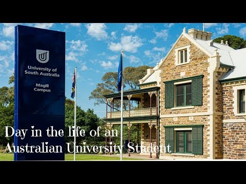 Day in the Life of an Australian University Student || UniSA
