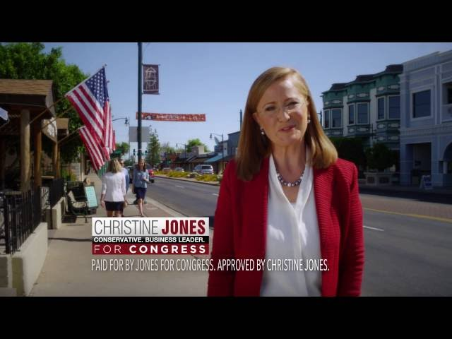 Business Leader | Christine Jones for Congress