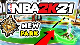 NEW BEACH PARK AND NEW SHOT METER CONFIRMED - NBA 2K21 GAMEPLAY + NEW PARK AFFILIATIONS?