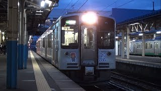 【トキ鉄】えちごトキめき鉄道 妙高はねうまライン 普通妙高高原行 Japan Niigata Echigo TOKImeki Railway Myoko Haneuma Line Trains
