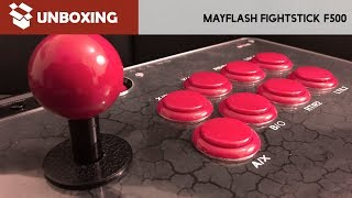 Unboxing-Tutorial-Reseña: Fight Stick MayFlash F500