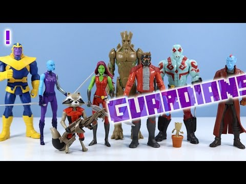 Guardians of the Galaxy Animated Action Figures Hasbro