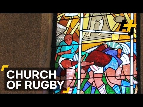 This Church In France Is Dedicated To Rugby – Notre Dame de Rugby