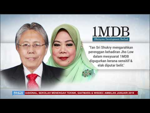 Najib Arah Kehadiran Jho Low Ke Mesyuarat 1MDBDisembunyikan?
