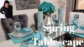 Spring it on Collab Spring Tablescape #SpringItOn2019