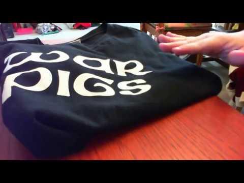 Vintage Clothing Haul For ReSale on Ebay : Disney, Black Sabbath and More