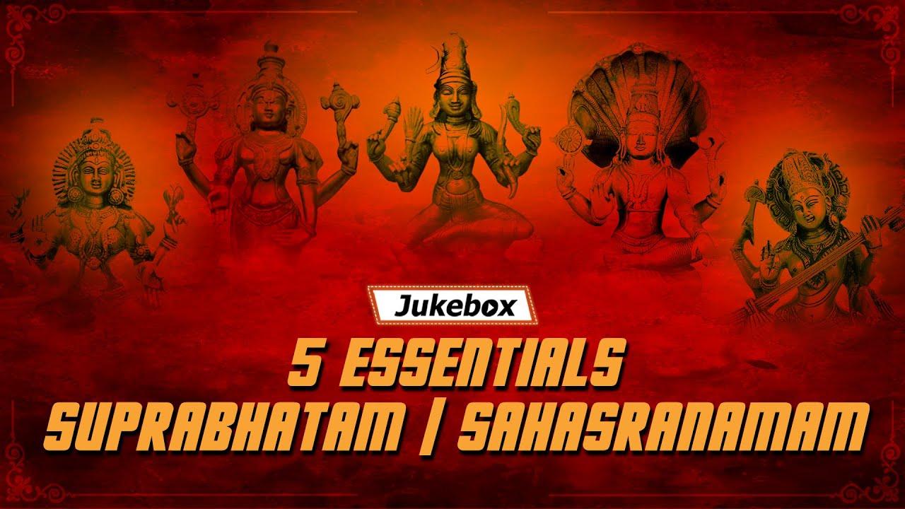 Top 5 Essentials Suprabhatam I Vishnu Sahasranamam | Venkatesh Suprabhatam