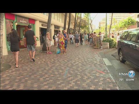 Sidewalk improvements to start in Waikiki