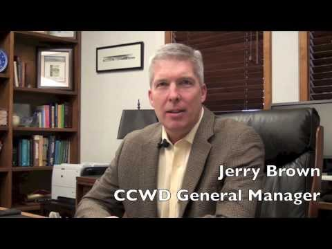 CCWD General Manager Jerry Brown Introduces the District's 2013 Annual Report