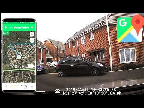 How To Use Google Map Navigation In Real Life In The UK