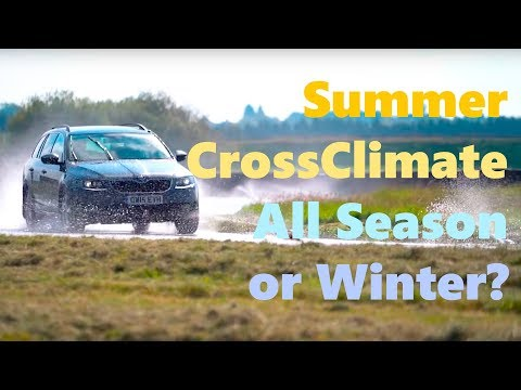 CrossClimate vs All Season vs Summer vs Winter Tyre Test - TyreReviews