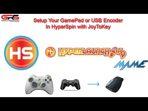 HyperSpin Controller Setup with JoyToKey and Gamepad