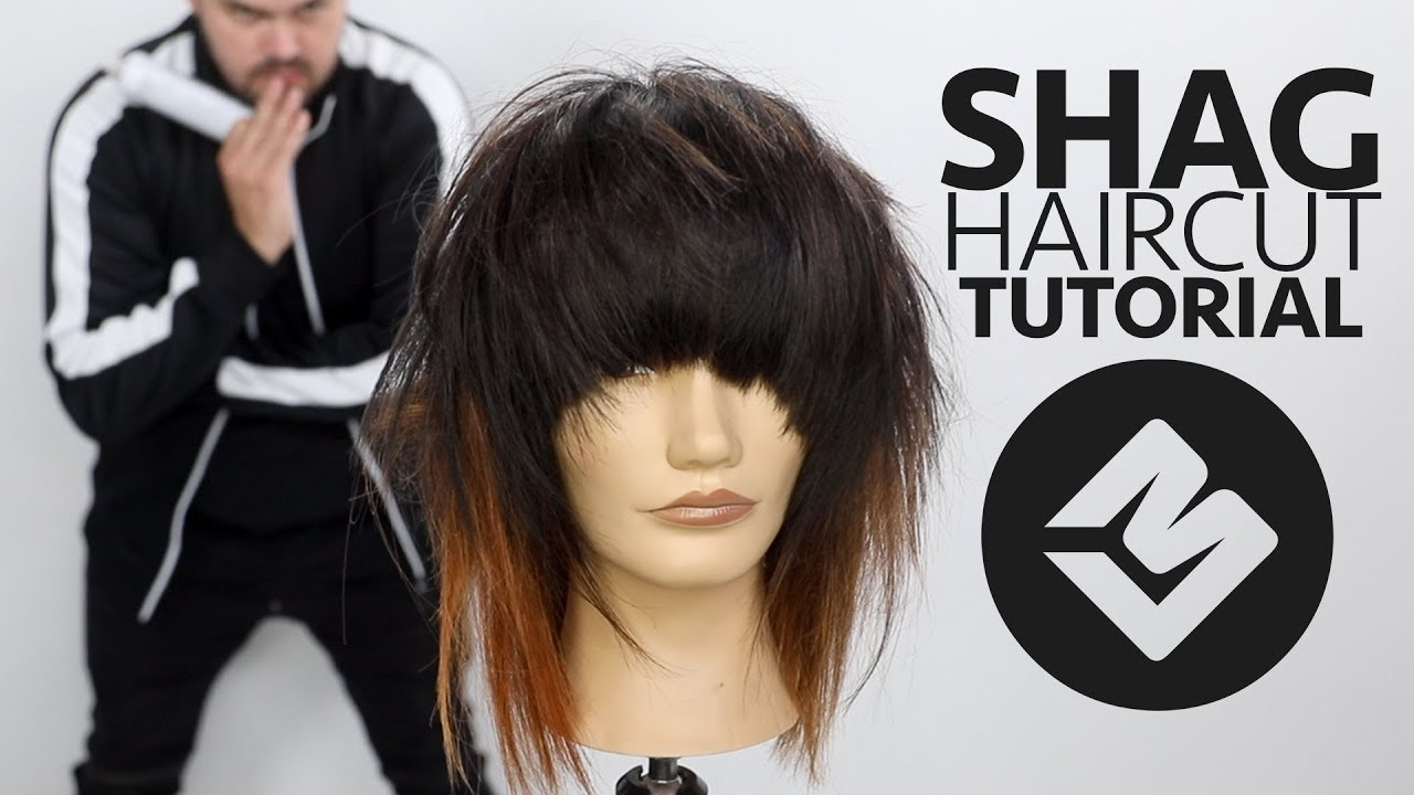 SHAG HAIRCUT TUTORIAL FALL 2018 - Matt Beck Haircutting Tutorial - SCENE HAIRCUT