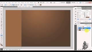 كيفية تصميم المظهر الخشبي بال فوتوشوب -photoshop Cs5 Wood Texture