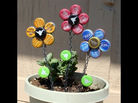 Over 100 creative Bottle Cap recycle ideas - YouTube
