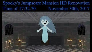 [Rooms 1-250] Spooky's Jumpscare Mansion HDR Speedrun (17:32.70; Current WR)