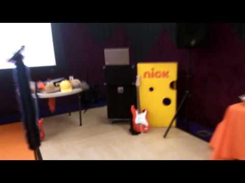 Karaoke at the Nickelodeon Animation Studio's
