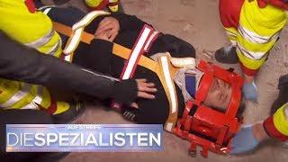 Team + Patienten in Gefahr: Ruinen-Boden droht einzustürzen | Birgit Maas | Die Spezialisten | SAT.1