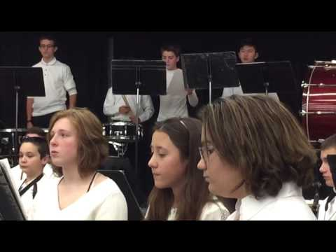 Walpole Bird Middle School December 2016 Concert Part 2