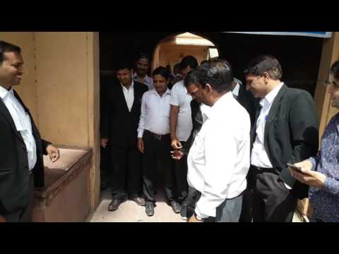 Lawyers are protesting against Law commission Amer Advocates bar Association Amer Jaipur