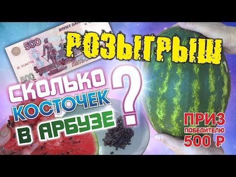 Кто Угадает Сколько СЕМЕЧЕК в АРБУЗЕ? Тому 500 рублей