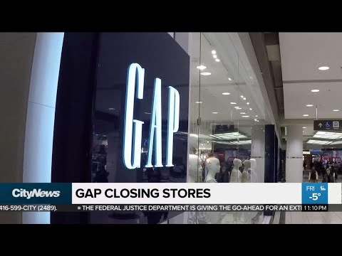Gap To Close 230 Stores, Unknown Amount In Canada