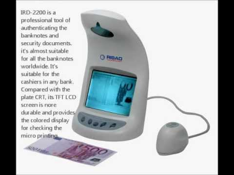 Infrared Detector IRD-2200(Coin Counter, Currency Counter, Money Detector Supplier)